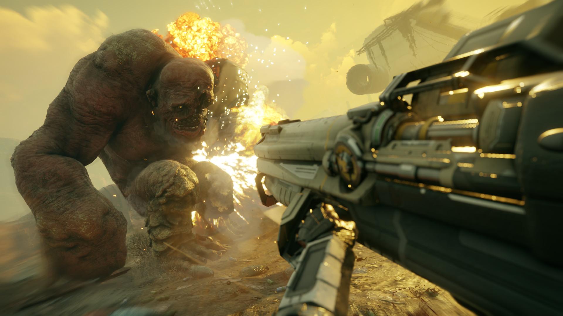 惊不惊喜 《狂怒2》BFG武器为豪华版和收藏版独占
