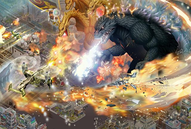 《哥斯拉 防卫军》5月23日推出 玩家可由「怪兽卡片」来收集怪物