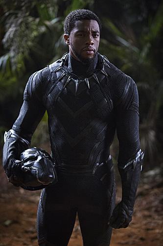 《黑豹》未來感十足,電影的服裝設計廣受好評。(資料圖)