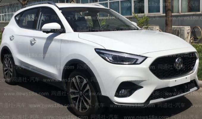 名爵新ZS实车曝光 新增1.3T发动机车型