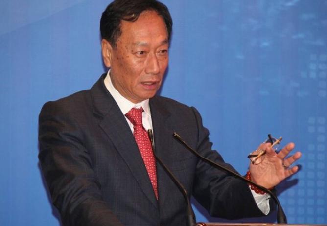 郭台铭:不能让蔡英文连任 否则是整个台湾的不幸