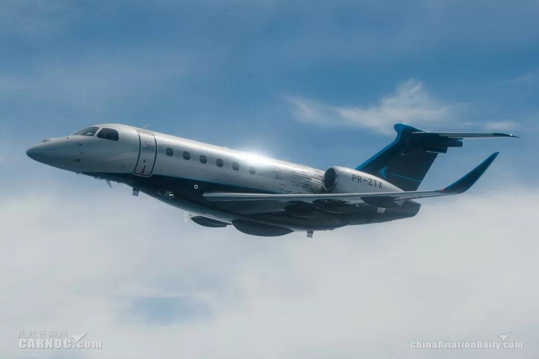 巴航工业领航600公务机完成首次跨大西洋飞行