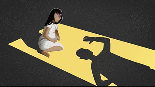 性侵案例泛滥 越南用8岁女童扮怀孕模特搞宣传
