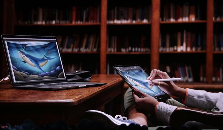 史上最强苹果电脑发布 iPad有了自己的系统