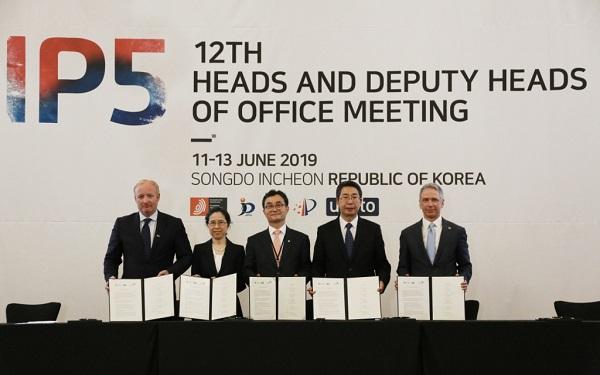 第十二次知识产权五局合作局长系列会议在韩国召开 申长雨率团出席