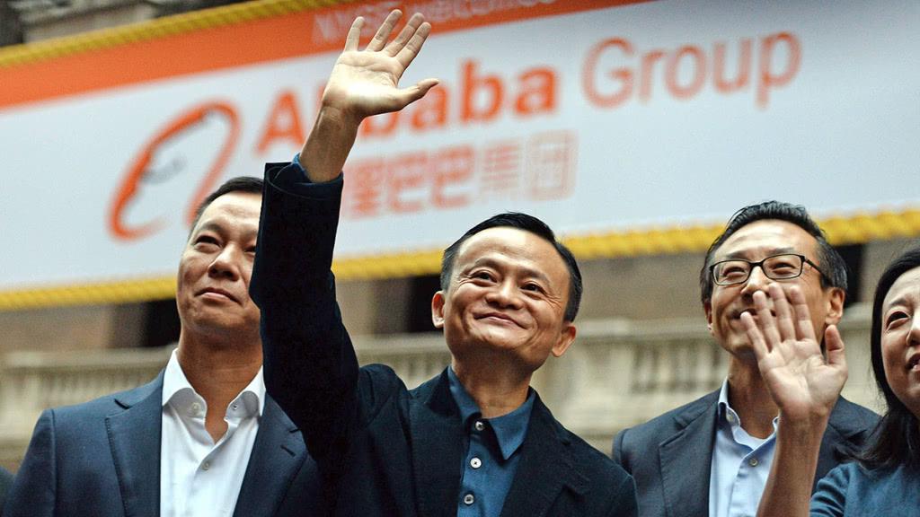 阿里巴巴递交香港上市申请的消息传出后,概念股纷纷大涨