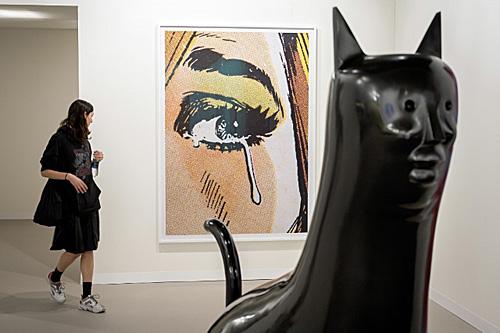 巴塞尔艺术展开幕 外媒:这里与贸易保护主义隔绝