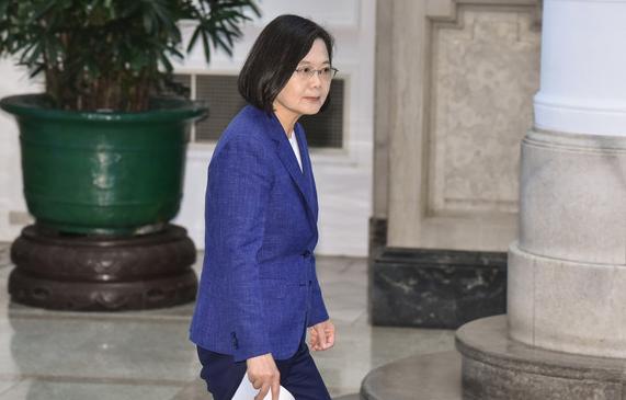 """蔡英文正式获得民进党提名 参加2020台湾""""大选"""""""