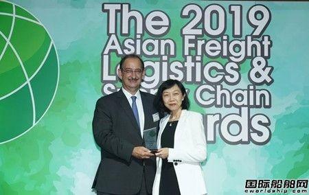 APL连续三年荣获最佳跨太平洋航运公司大奖