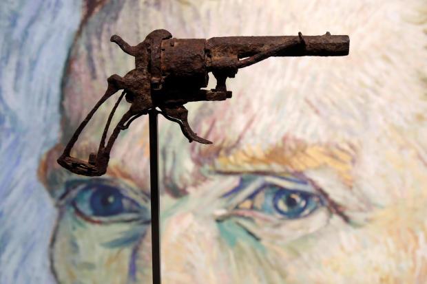 被出售的手槍(圖源:CBS)