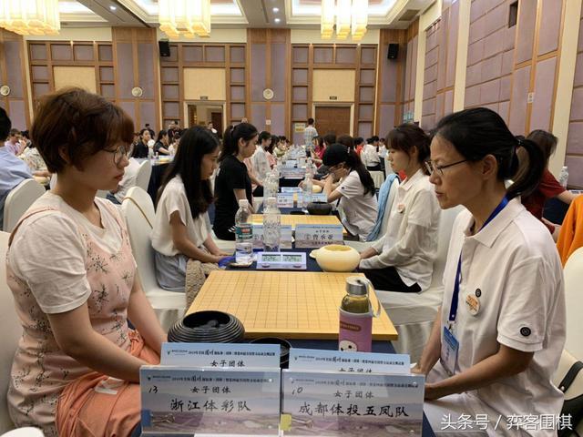 2019女团赛最终排名确定 浙江成都升入女子围甲