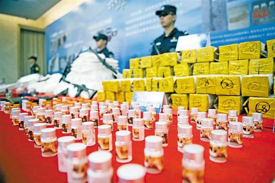 广 东2017年以来共缴毒27吨 抓获犯罪嫌疑人4.3万名