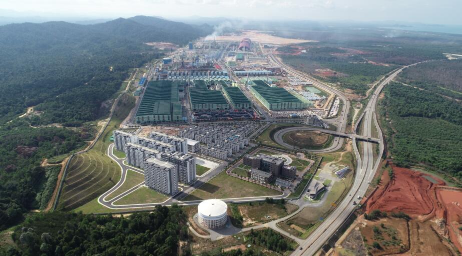 马中关丹产业园年产350万吨联合钢铁项目全⾯竣⼯投产|关丹|钢铁