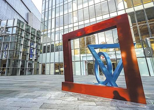 英国雕塑家 菲利普·金作品 落地广州