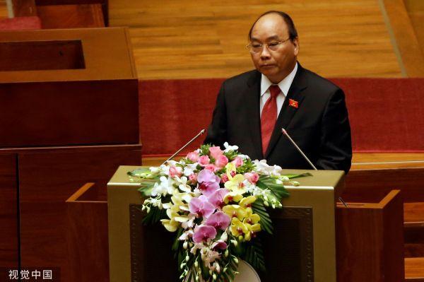 资料图片:越南总理阮春福(视觉中国)