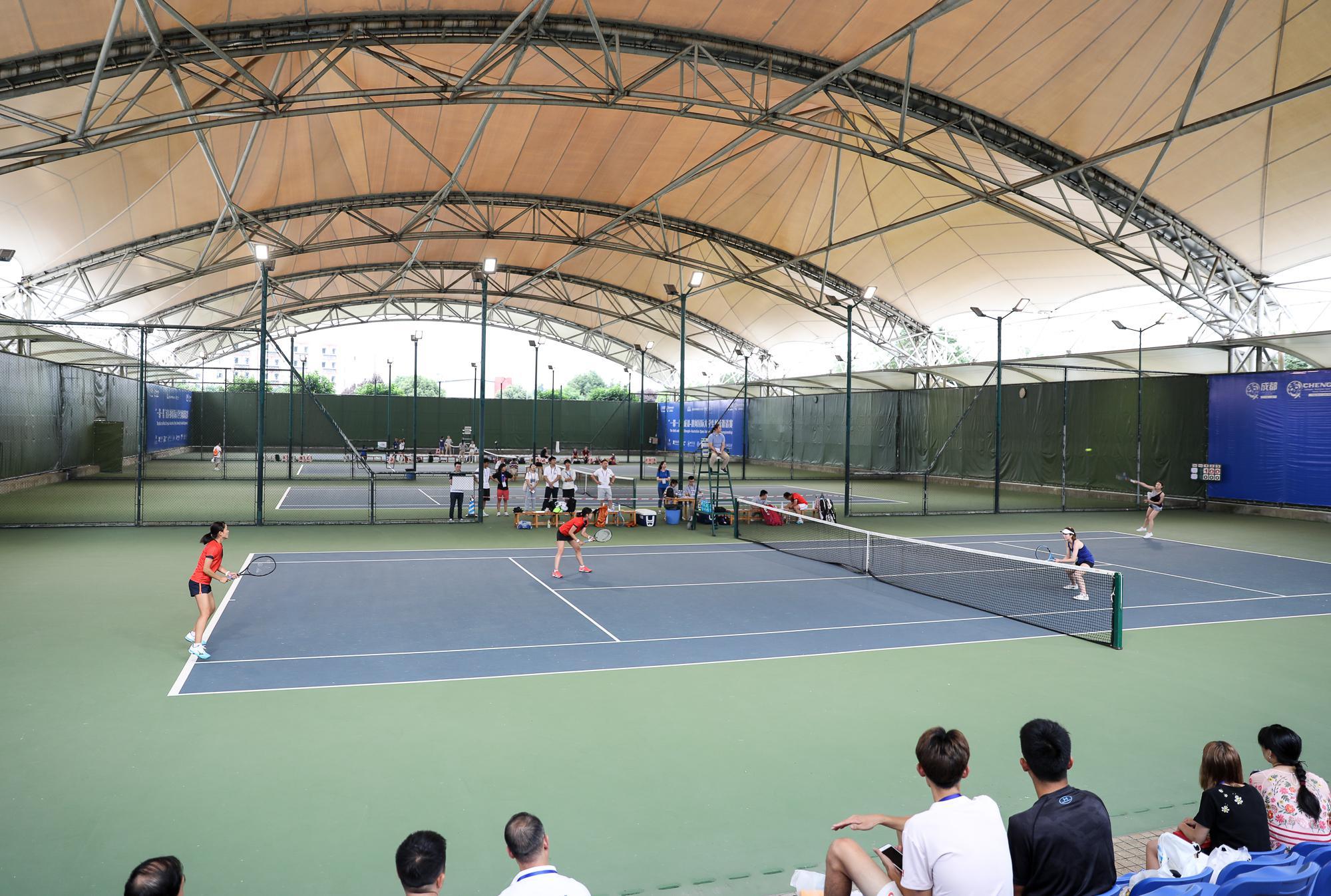 川大收获成都-澳网国际大学生网球赛两连胜