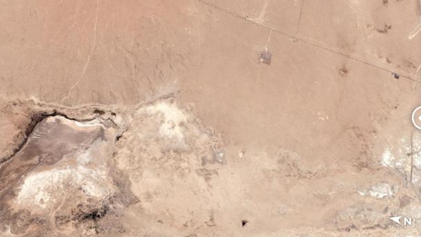 两次地震后 卫星图显示加州出现一条巨大裂缝(图)