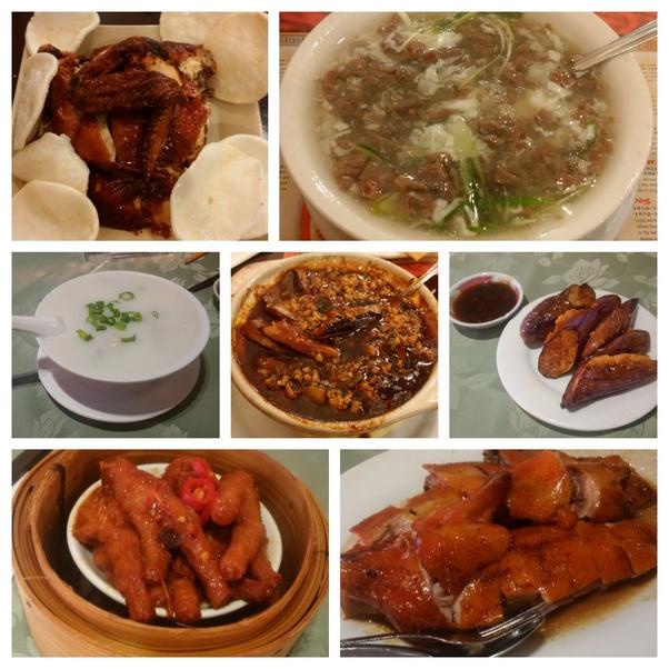 这名网友还贴出了自己拍的中国美食照片