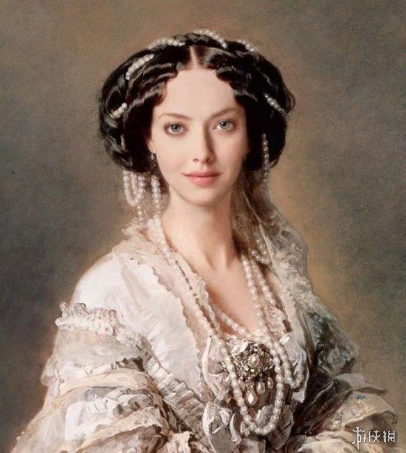 好莱坞明星化身古典油画主角 完美展现性感的一面!