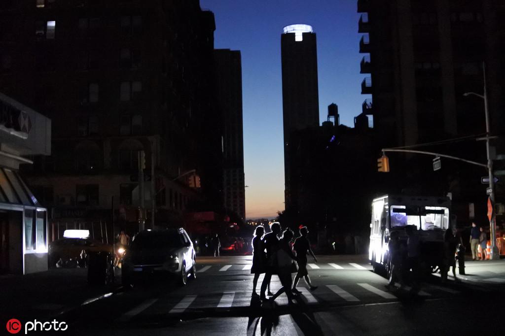 纽约大面积停电 曼哈顿大面积停电影响约4万人