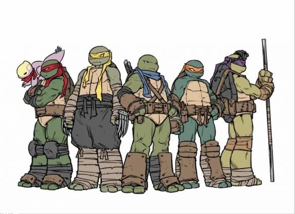 """首位""""女忍者神龟""""亮相《忍者神龟》漫画!原为人类"""