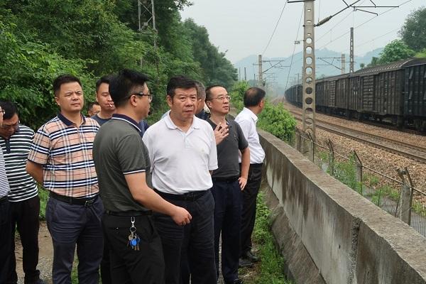 湖南省交通运输厅开展《湖南省铁路安全管理条例(草案)》立法调研