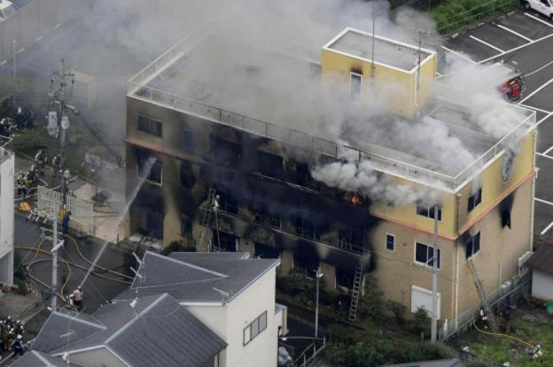 日本京都动画工作室火灾:33人确认死亡 兄弟,你没有经历过火灾不知道,火灾蔓延速度快的话,2,3秒内