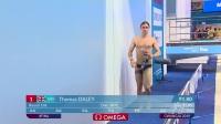 男子10米跳台预赛-英国选手托马斯·戴利