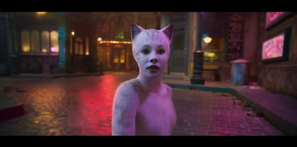 比恐怖片还吓人!百老汇音乐剧《猫》真人版电