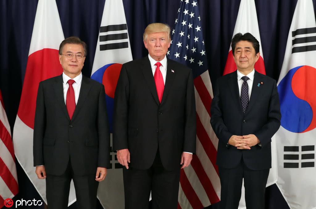 特朗普:只要韩日需要,我愿意调解日韩贸易争端