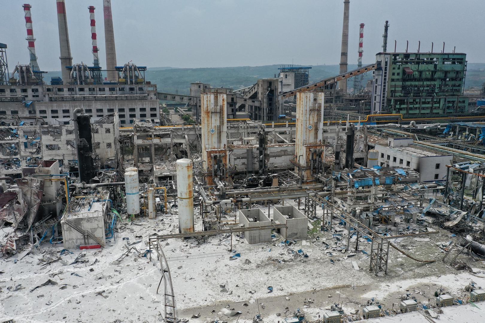 河南气化厂爆炸已致15人死亡 员工称爆炸时至少200人在岗
