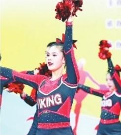 武汉的这群高中生跳啦啦操得了全国冠军