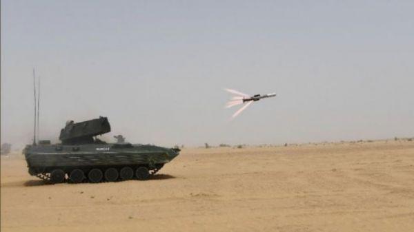 """印度""""毒蛇""""反坦克导弹将量产 旨在对付""""高度设防""""坦克"""