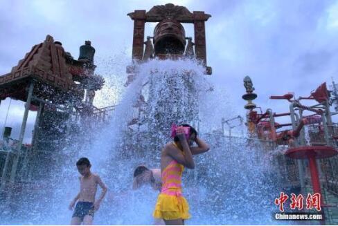华北黄淮四川等地24日最高气温超35℃ 局地达40℃