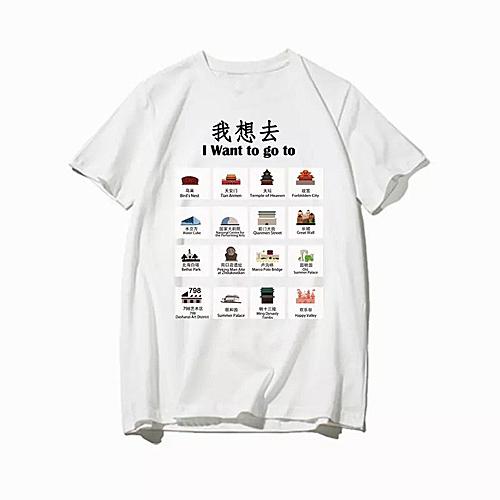 外国人在北京怕迷路?新款导航T恤引网友热议(图)|导航