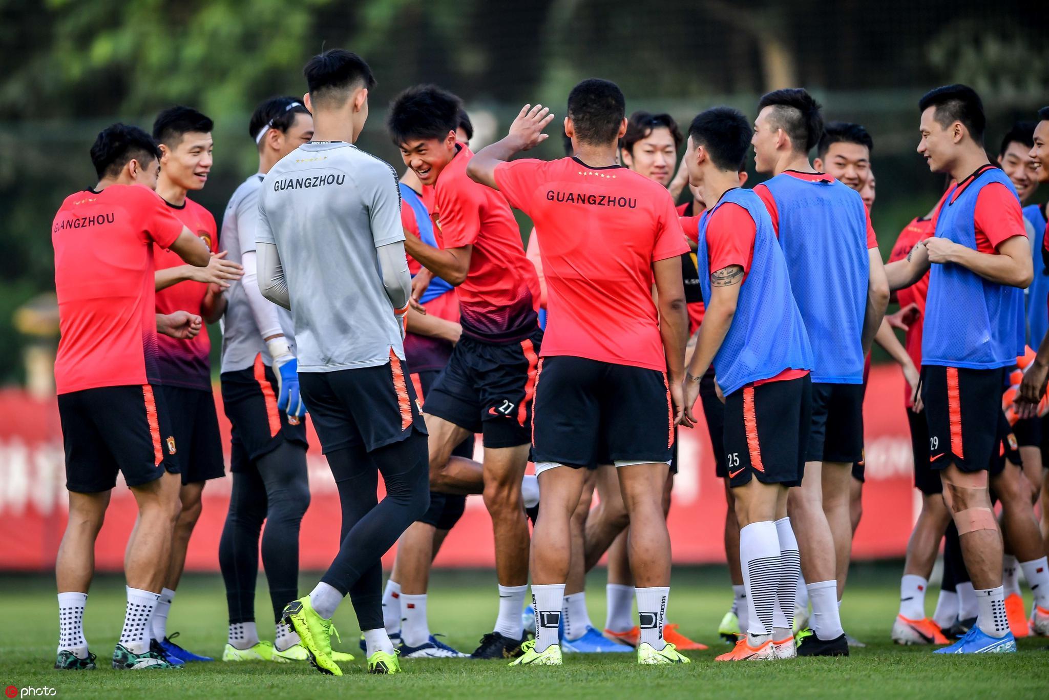 多图流:恒大备战足协杯,吴少聪、塔利斯卡、布朗宁在列