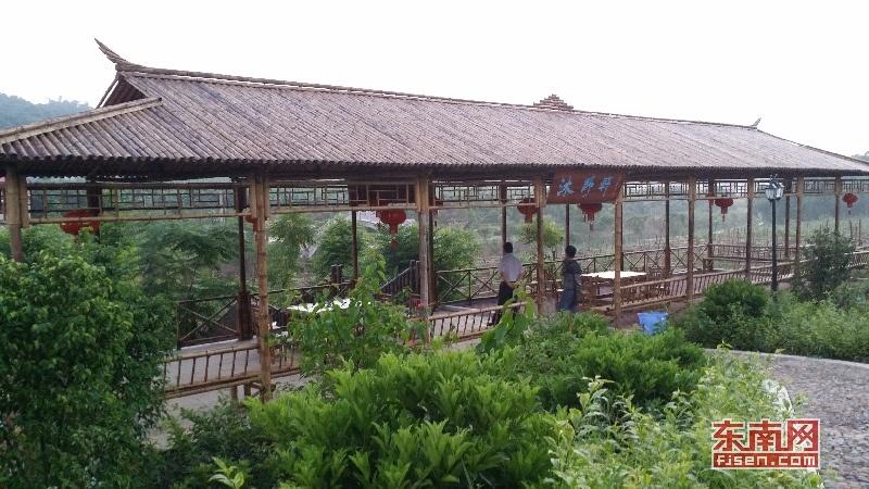 龙山镇坪埔村休闲公园。龙山镇 供图