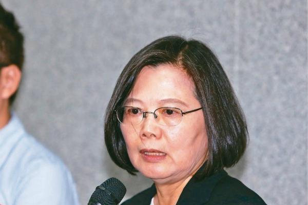 蔡英文称再给我4年台湾脱胎换骨 网讽:挫骨扬灰|蔡英文
