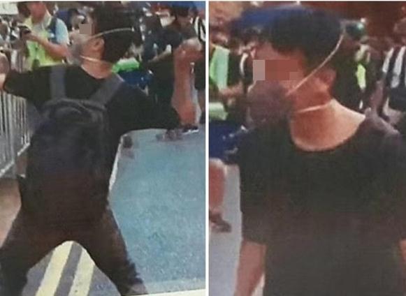 冲击中联办还扔鸡蛋?28岁男子被香港公安局拘捕