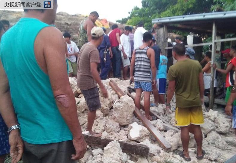 菲律宾北部三连震:全是5级以上 已致8人死亡|死亡人数