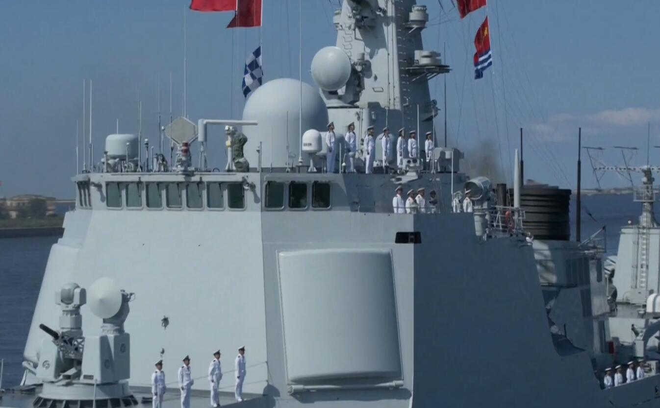 中国为何派052C神盾舰参加俄阅兵 原来还有这些讲究