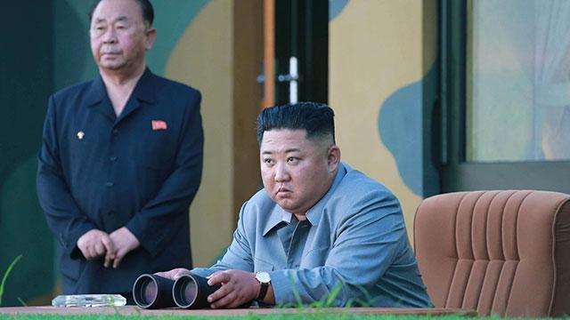 朝鲜发射火箭弹 发射前曾与美官员见面