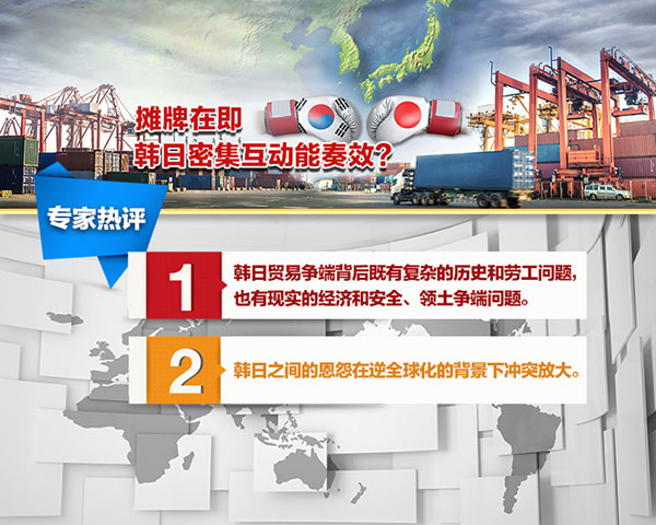 《环球视线》专家热评——张建平:韩日之间的恩怨在逆全球化的背景下冲突放大