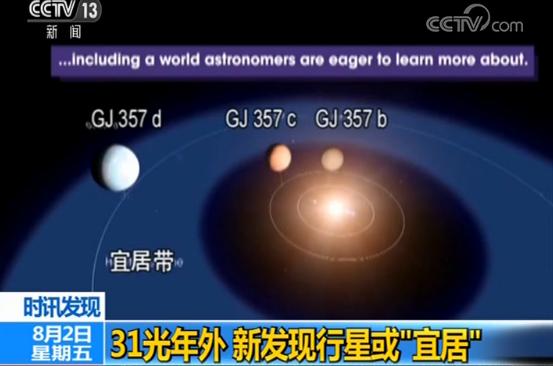 <b>NASA:31光年外或存在宜居星球 质量是地球6.1倍|美国宇航局|星球</b>