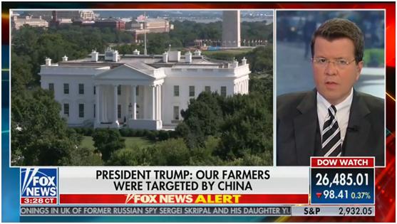 中国为关税买单?福克斯主播在线怼特朗普:是美国人!