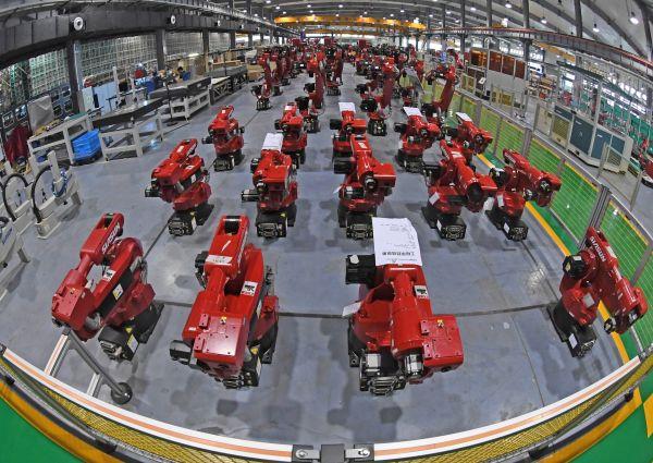 日媒:中国工业机器人性能媲美日欧企业|中国工业|机器人