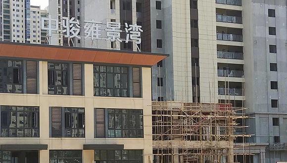 """中骏南昌限价项目发生塌陷 """"无梁楼盖""""再出事故"""