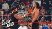 WWE十大解救场面 约翰塞纳增援巨石强森 胡克霍根硬刚巨人卡里
