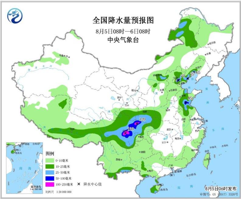 "<b>华北四川盆地等地降雨持续 台风""利奇马""生成|华北</b>"