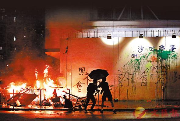 香港示威者煽动儿童袭击警察子女:7岁以下无刑责